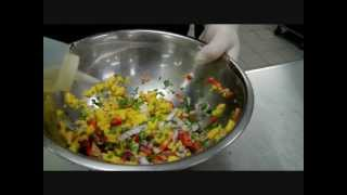 How To Make Mango Salsa!!