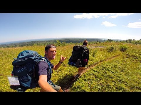 Backpacking in Isle Royale National Park