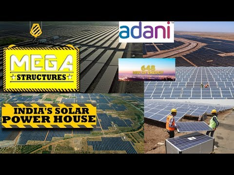 MEGA Structure:India's Solar Power House By NatGeo ♕हिंदी♕