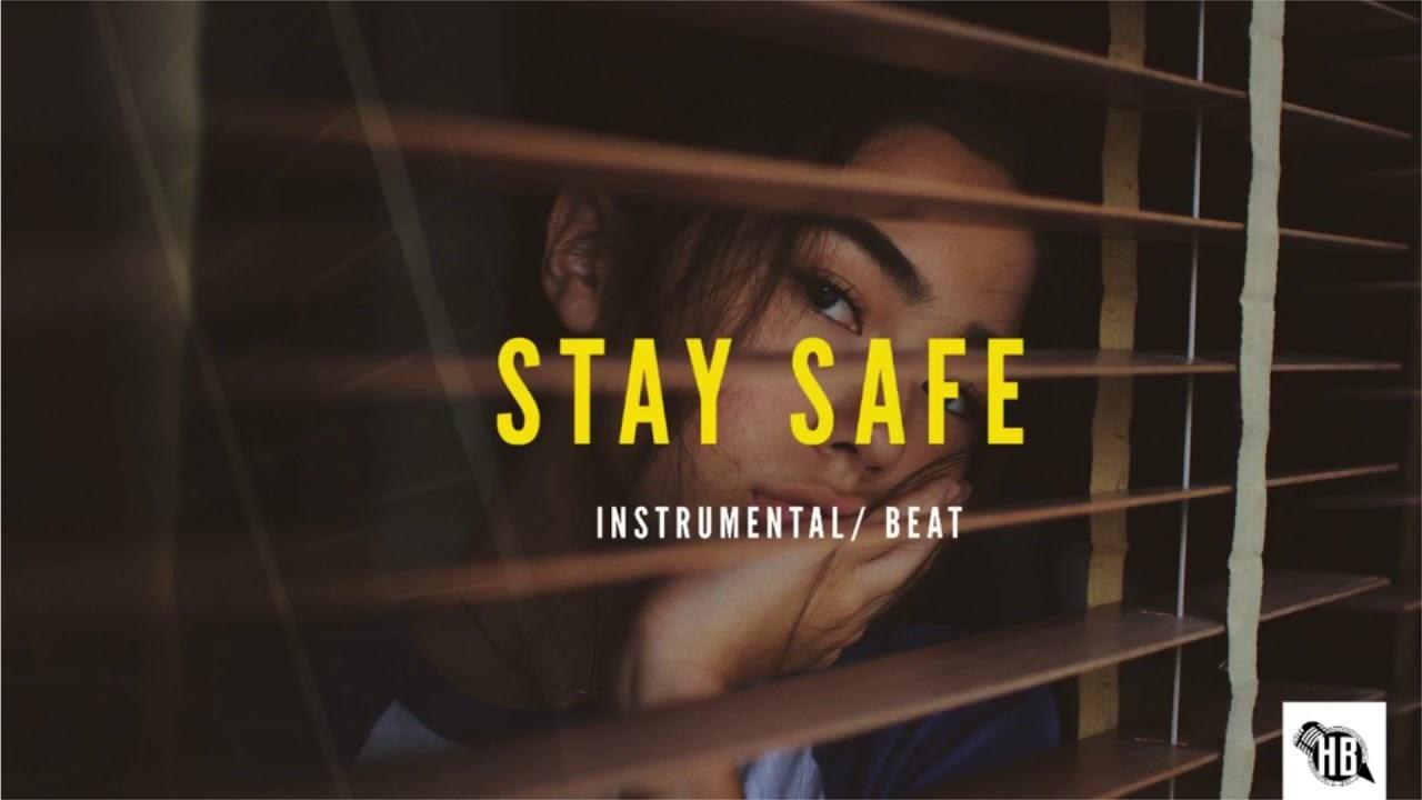 "Afrobeat x Dancehall Type Beat ""STAY SAFE ""   UK Afrobeat Instrumental"