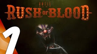 Until Dawn Rush of Blood - Gameplay Walkthrough Part 1 - Prologue [1080p 60fps] PS VR