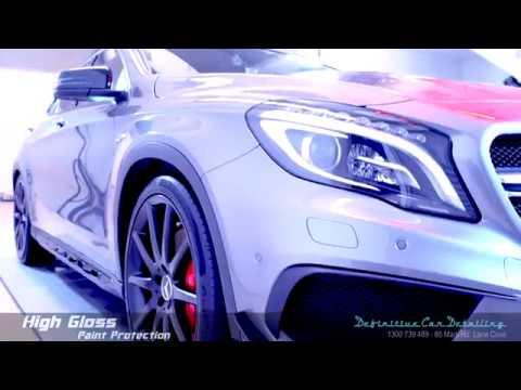 Mercedes GLA45 AMG Mountain Grey Definitive Sydney Liquid Glass Ceramic Coating High Gloss Paint Pro