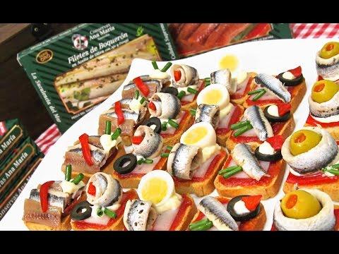 Canap s variados 5 aperitivos f ciles enrollados y en for Canapes faciles y baratos