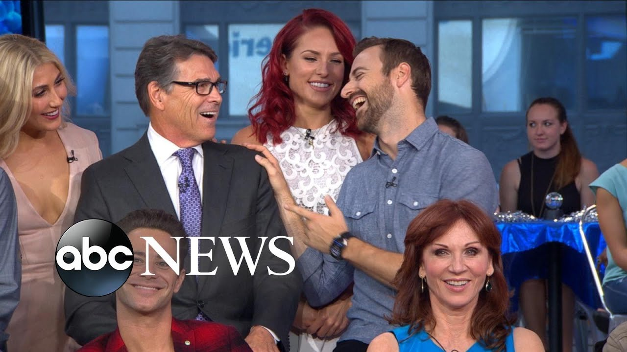 Good Morning America Intruder Interview : Dwts full season cast interview on gma youtube