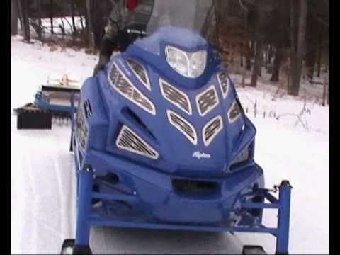 Sherpa Utility Snowmobile By Alpina Typical Tasks YouTube - Alpina sherpa