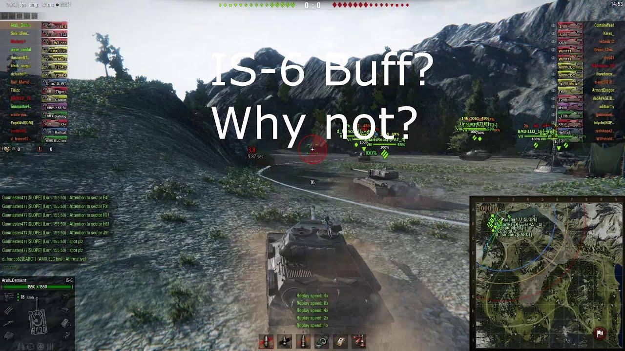 wot is6 buff