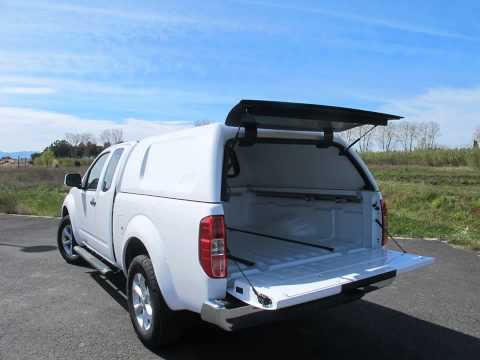 hard top polyboy standard nissan navara d40 king cab. Black Bedroom Furniture Sets. Home Design Ideas