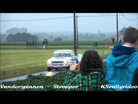 HRP And FSE @ Ypres Historic Rally (FIA) 2013 By KSrallyvideo [HD]