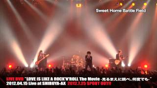 a flood of circle/LIVE DVD「LOVE IS LIKE A ROCK'N'ROLL The Movie」ダイジェスト
