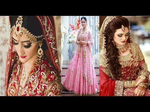 Top Bueatiful Bridal Lehenga Style Saree 2018 Indian Wedding