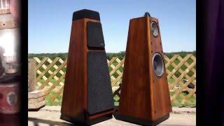Restored Vintage Epicure 3.0 Speakers