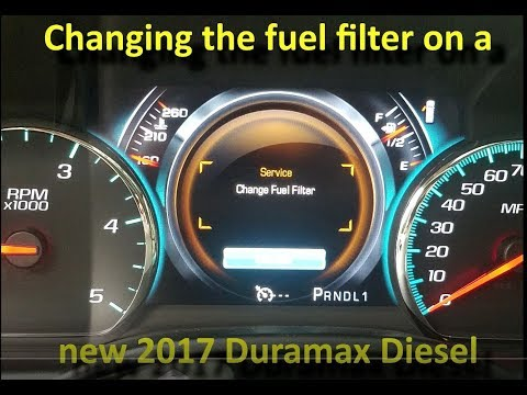 [SCHEMATICS_48ZD]  Changing the fuel filter on a New 2017 Duramax Diesel GMC or Chevy - YouTube | Duramax Diesel Fuel Filter |  | YouTube