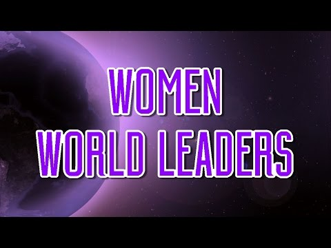 Women World Leaders: Interviews with Women in Power