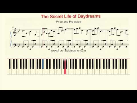 "How to Play Piano: Pride and Prejudice ""The Secret Life of Daydreams"" by Ramin Yousefi"