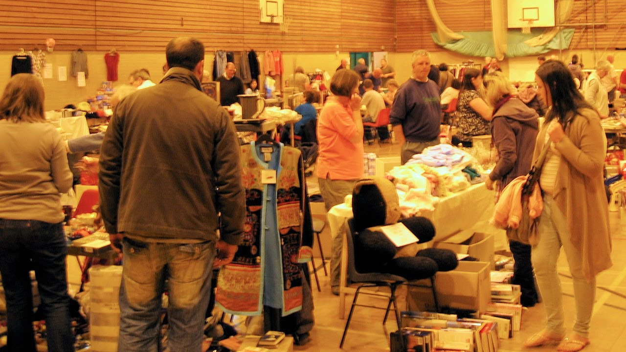 belper indoor car boot sale  the drive from derby to this