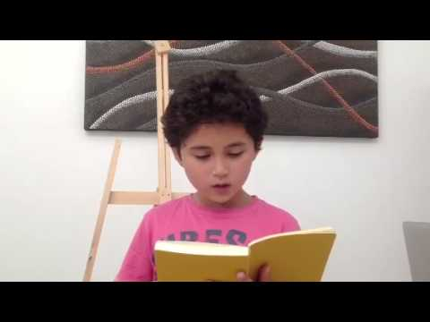 James Reads A Sort Of Song  William Carlos Williams