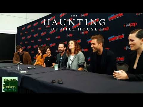 2018 New York Comic Con EXCLUSIVE: Netflixs THE HAUNTING OF HILL HOUSE Press Conference