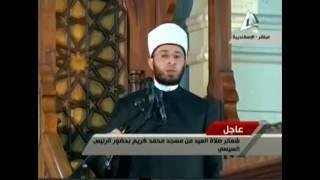 أسامه الأزهري: عبارة ''الوحي نزل على الرئيس السيسي'' من صنع الإخوان
