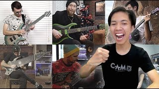 Metal Guitarist Reacting To The Biggest Shred Collab Song In The World II (2018)