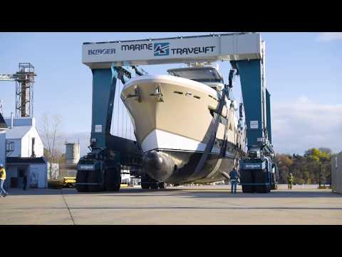 Burger Boat Company NORTHLAND Launch