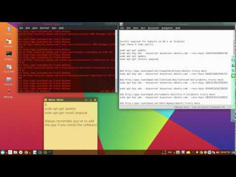 Install Aegisub 3.2.2 for my Xubuntu 14.04.1