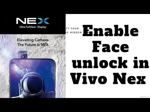 Enable face unlock in vivo nex trick - YouTube