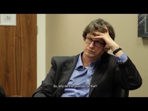 Julian Assange interviews Guardian Editor Alan Rusbridger