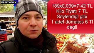 Rusya'da Domates Fiyatı Ne Kadar? (İLK VİDEO KAYDI)