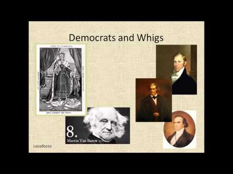 9 5 Democrats v  Whigs