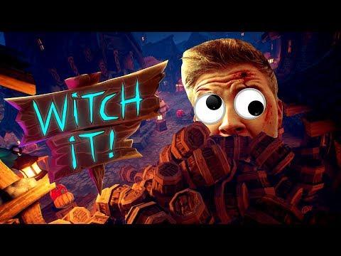 Nicht schießen! Ich wechsel Skin - Witch It