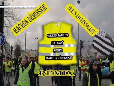 Gilets jaunes salegy / Macron démission remix 2019