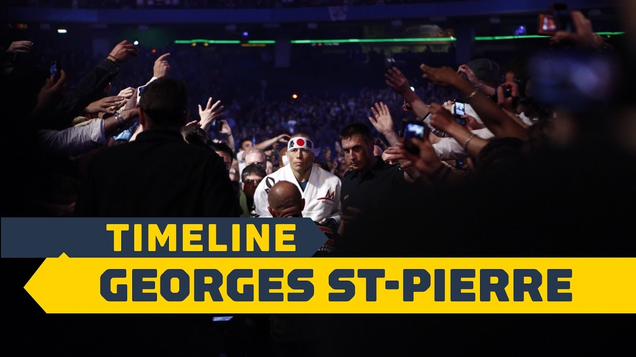 Timeline: Georges St-Pierre - MMA Fighting