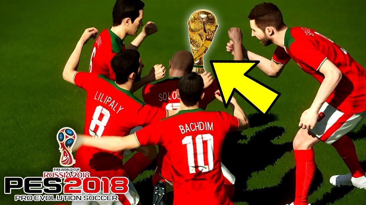 LAGA PENENTUAN TIMNAS INDONESIA!!!-FIFA WORLD CUP RUSSIA #3 (PES 2018 INDONESIA)