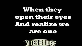 Open Your Eyes - Alterbridge - lyrics