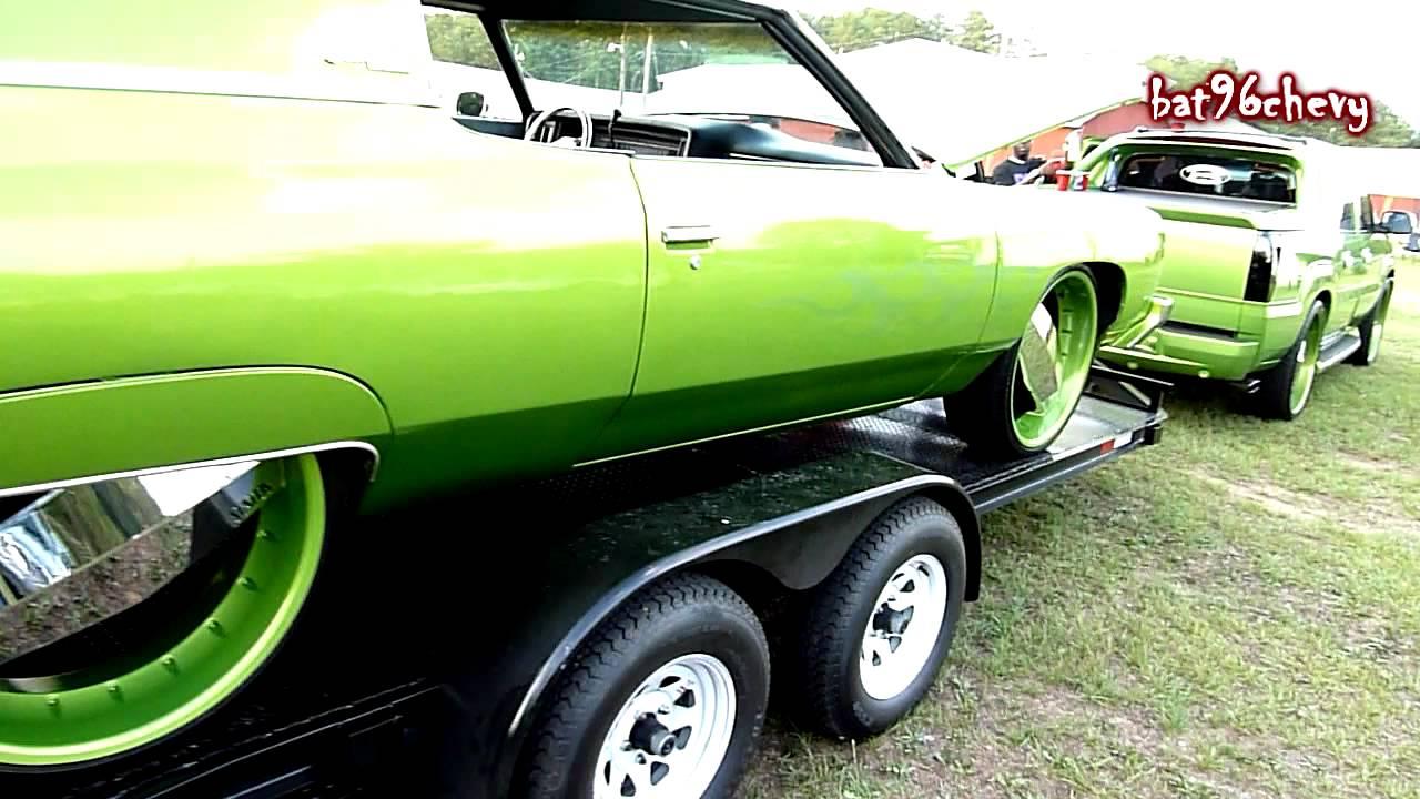 green escalade on 26 blades pulling green 73 impala donk on 24 Chevy Avalanche green escalade on 26 blades pulling green 73 impala donk on 24 blades hd youtube