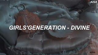 Girls' Generation (소녀시대) - 'Divine' Easy Lyrics