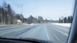 Winter drive - Finland, Kello - Kempele