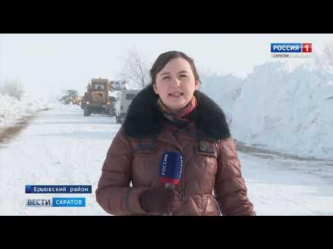 В снежной блокаде: Жители села Ершовского района были лишены продовольствия и медикаментов