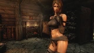 SKYRIM  Sexy Followers - Temptress Race ( PC Mod Tutorial DE )