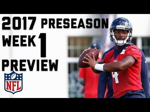 Preseason Week 1 Preview: Player and Position Battles to Watch, & Must Watch Games | TA | NFL