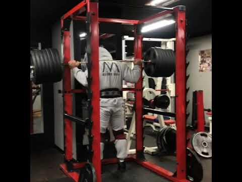 스쿼트300kg 1개