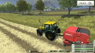 Farming Simulator 2013 ч21 - Пчёлы, работа и прицеп