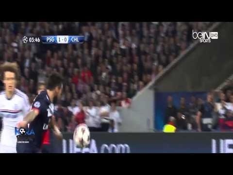 PSG vs Chelsea 3 1 2014 Goals & Highlights 2 4 2014 HD