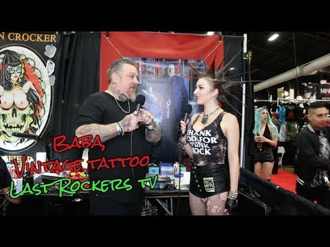 BABA of VINTAGE TATTOO talks PUNK IN THE 1980s in LOS ANGELES, 29 YEARS OF TATTOOING