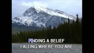 Falling Into You (Karaoke) - Style of Celine Dion