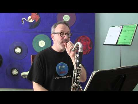 Fast, light tonguing on bass clarinet —So you want to be a Bass Clarinet player