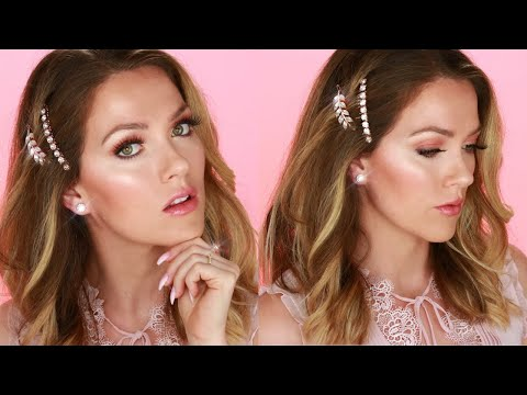 FLAWLESS DEWY GLOWING SKIN WITH MAKEUP   Step by Step Makeup Tutorial for Beginners