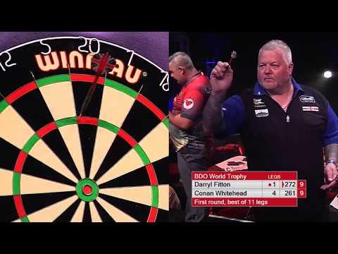 Fitton vs Whitehead Darts World Trophy 2017 Round 1