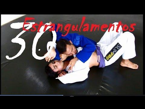 Jiu Jitsu - Trinta Estrangulamentos Fatais