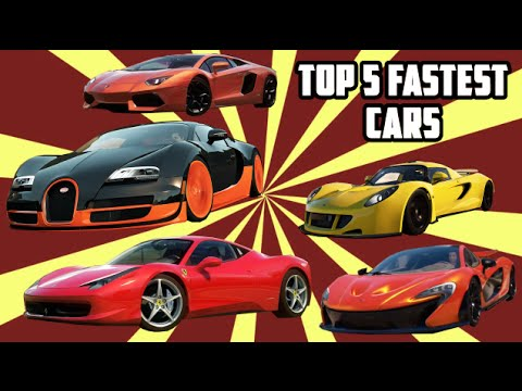 Top 5 Fastest Cars >> Top 5 Fastest Cars Drag Race Forza Horizon 2 720p